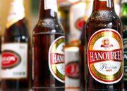 Bia chai Hà Nội 450ml nhẵn đỏ