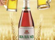 Bia Hà Nội 450ml nhẵn xanh
